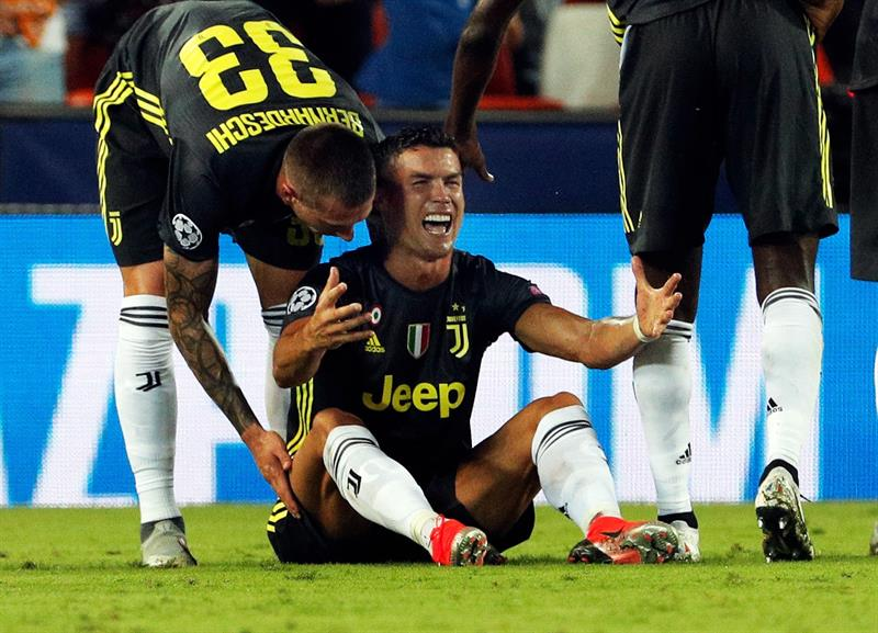 Ronaldo expulsado