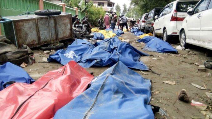 Image result for 385 muertos y 540 heridos por los seísmos y el tsunami en Indonesia