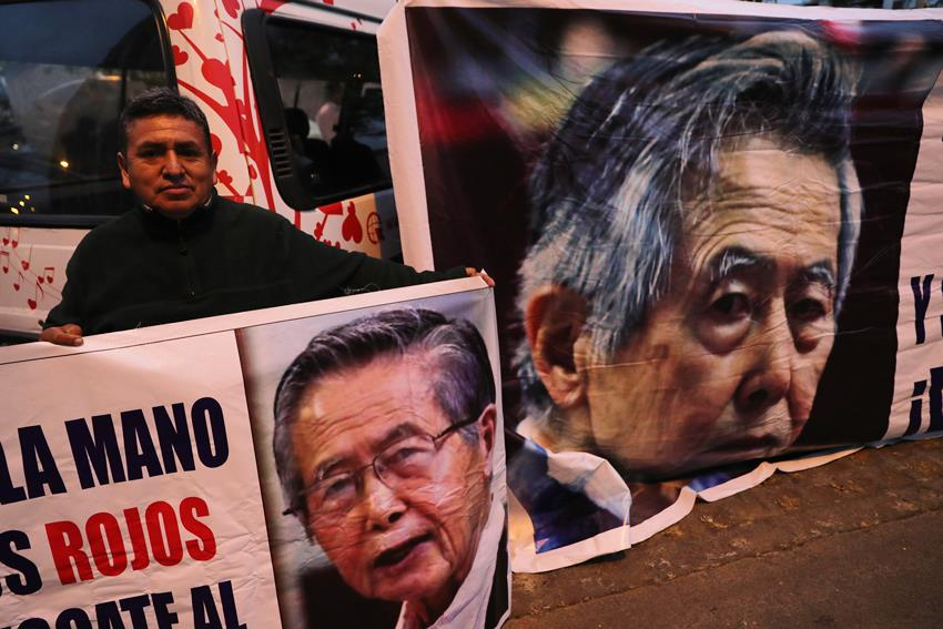 Fujimori ingresa a clínica antes de que se ejecute orden de volver a prisión