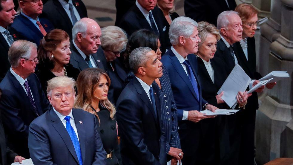 Washington se despide de George H.W. Bush con un emotivo funeral de Estado
