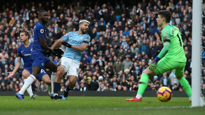Resultado de imagen para 6-0. Aguero sonroja al Chelsea