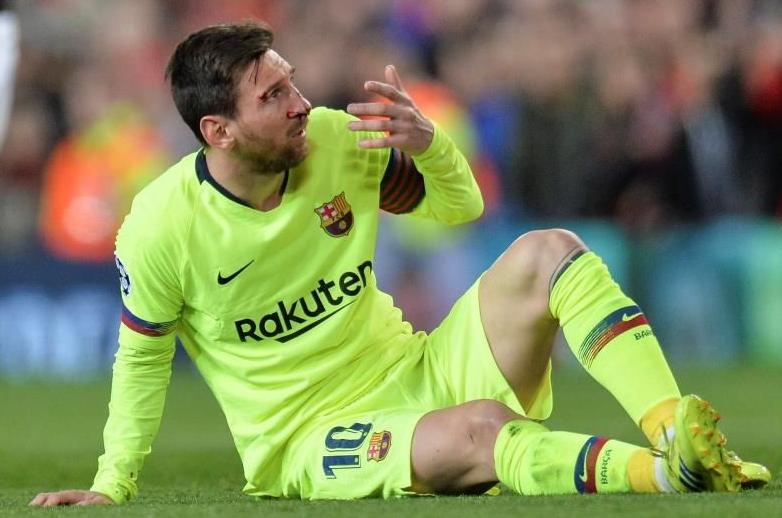 Messi vs Man United