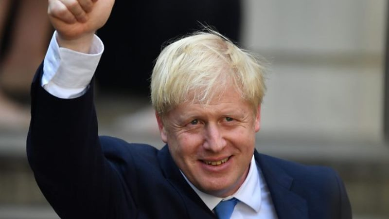 Boris Johnson ingles
