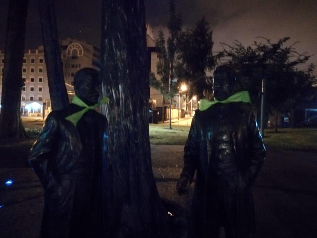 estatuas abortistas