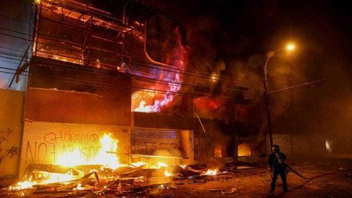 supermercado incendio