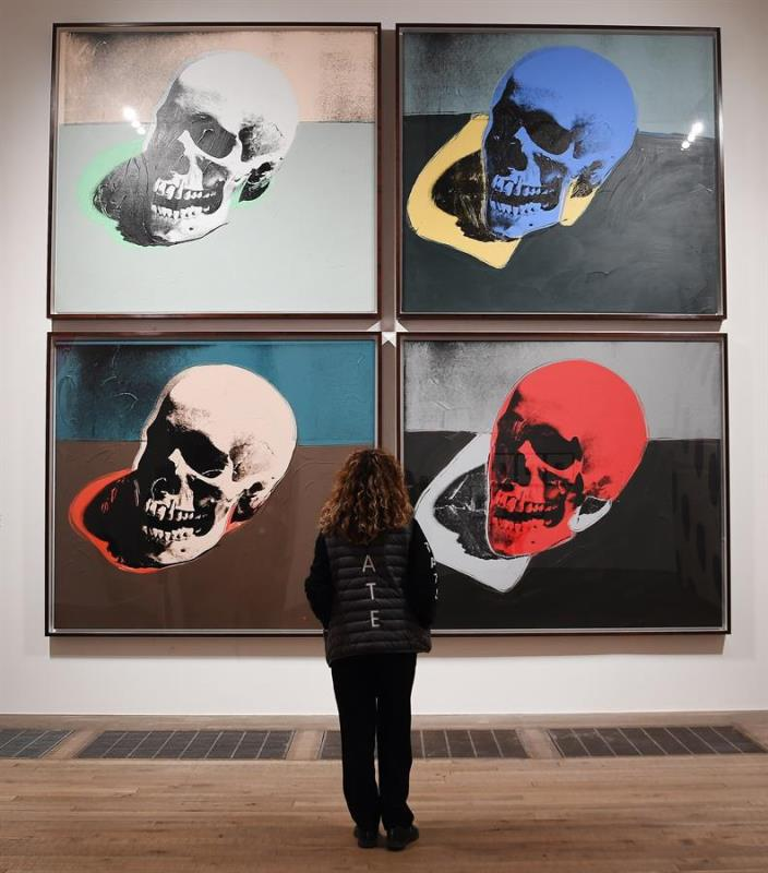 Andy Warhol calaberas