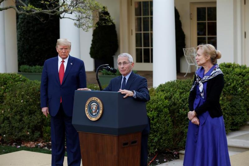 Trump jardin de las rosas
