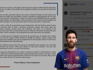 Comunicado de Leonel Messi