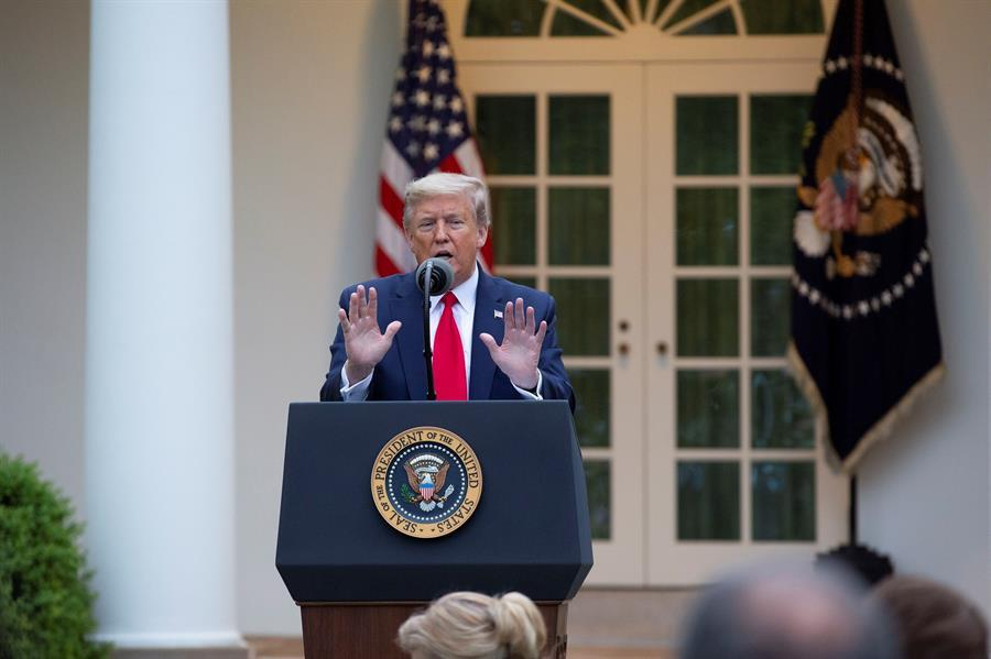 Trump quita fondos oms