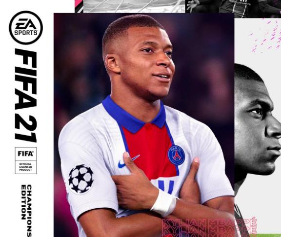 Mbappé, portada oficial de FIFA 21   La República EC