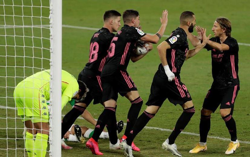Real Madrid negro rosado