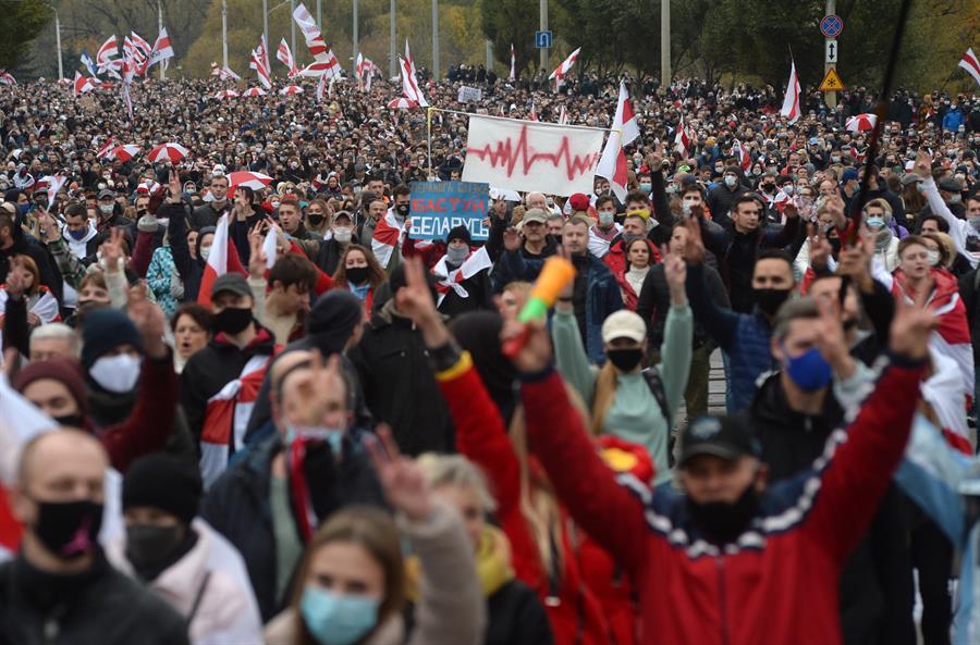 Protestas Bielorrusia