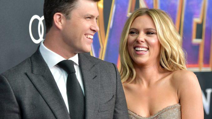 Scarlett Johansson se casa con el cómico Colin Jost en una «íntima ceremonia» | La República EC