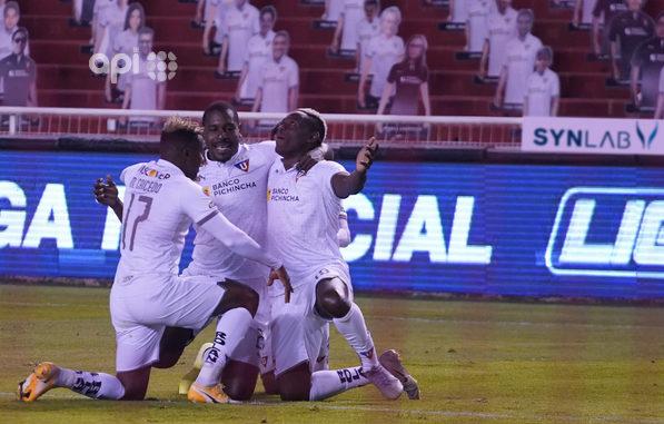 Liga goleó 4-1 a Aucas en el Rodrigo Paz | La República EC