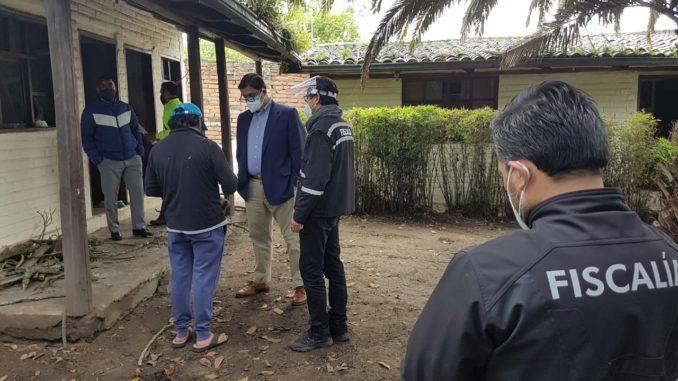 Fiscalía allana la casa de Andrés Michelena