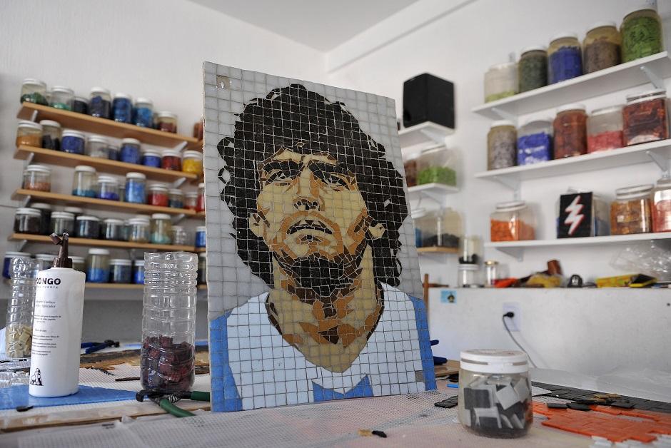 Murales por toda Argentina para conmemorar la vida y hechos de Maradona
