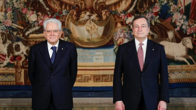 Jura Mario Drgui primer ministro Italia, foto Infobae