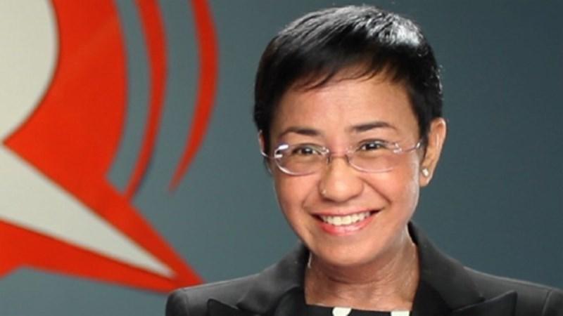 periodista Maria Ressa filipina gana premio