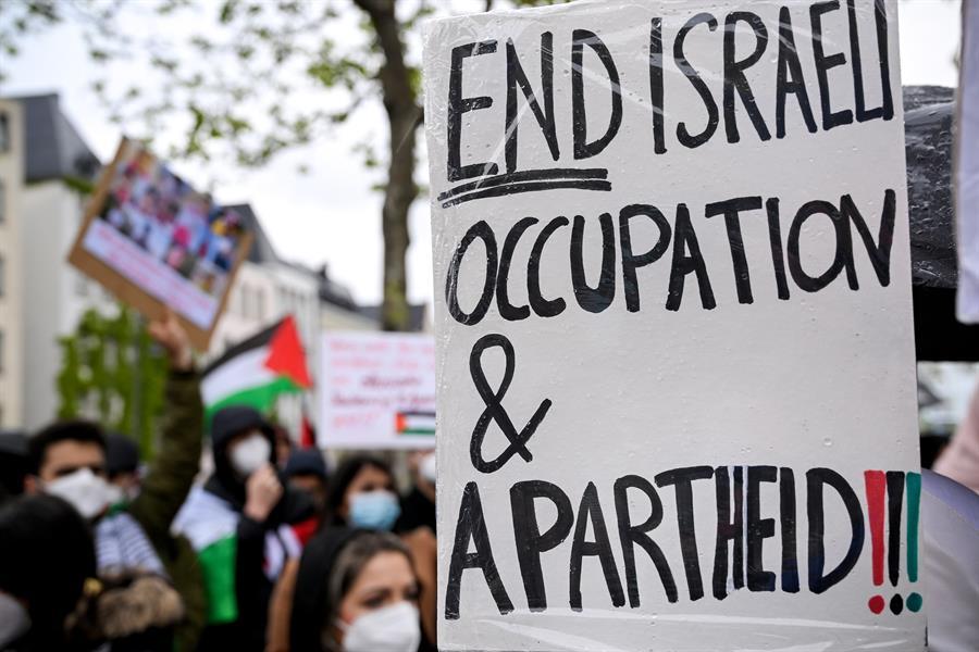 protesta pro palestina